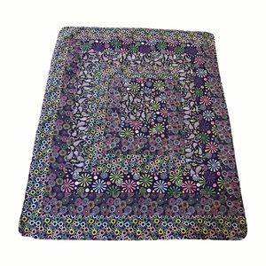 Handcrafted Purple Stylized Purple Quilt